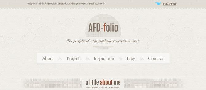 AFD Folio