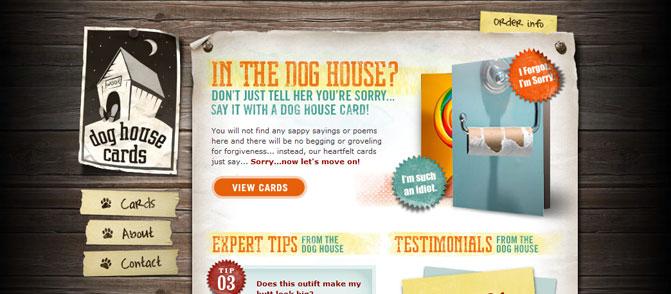 Dog House Cards