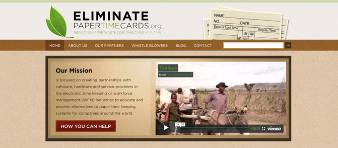 Eliminate Paper Time Cards