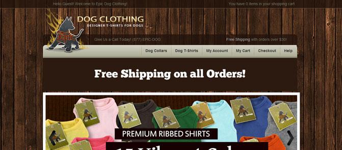 Epic Dog Clothing