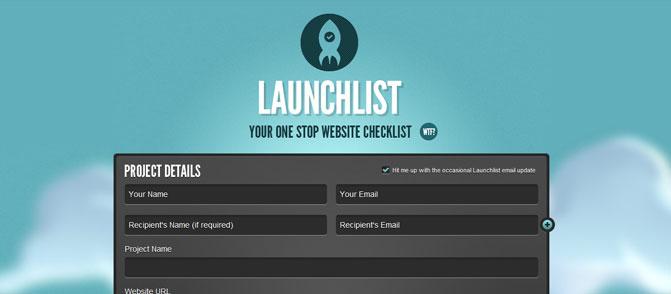 Launch List
