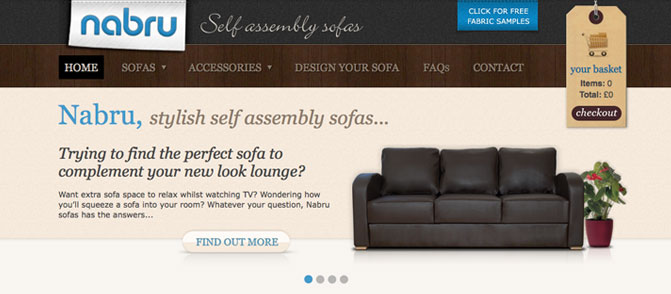 Nabru Self assembly sofas