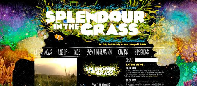 Splendour in the Grass 2010