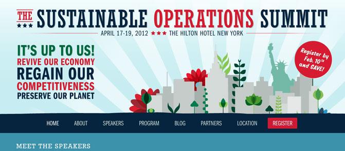 Sustainable Operations Summit