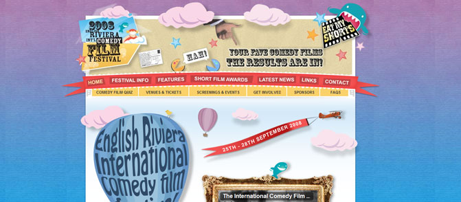 The Englis Riviera Comedy Film Festival