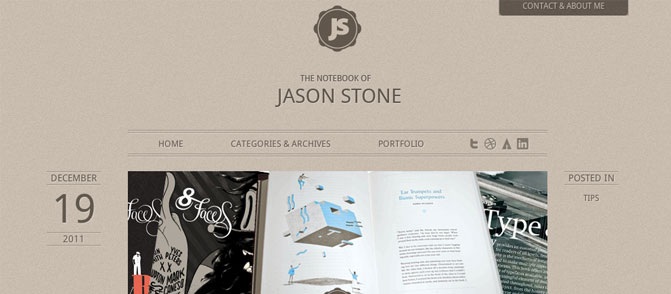 The Notebook of Jason Stone