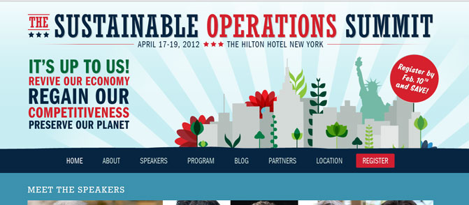 The Sustainable Operations Summit